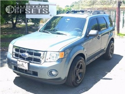 2010 Ford Escape - 16x8 13mm - Mamba Mr1x - Stock Suspension - 255/65R16