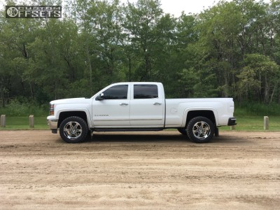"2015 Chevrolet Silverado 1500 - 20x10 -19mm - Hostile Havoc - Leveling Kit - 33"" x 12.5"""