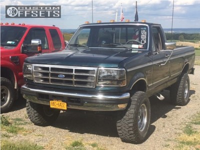 1997 Ford F-350 - 16x10 -32mm - Ultra Type 164 - Leveling Kit - 305/70R16