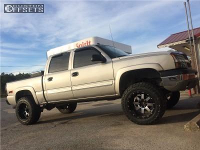 "2005 Chevrolet Silverado 1500 - 20x12 -44mm - Gear Off-Road Big Block - Suspension Lift 6"" - 35"" x 12.5"""