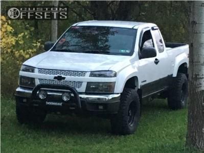 "2004 Chevrolet Colorado - 15x8 -19mm - Pro Comp 51 - Leveling Kit - 31"" x 10.5"""