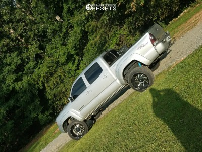 """2013 Toyota Tacoma - 20x12 -51mm - Vision Prowler - Suspension Lift 3"""" - 265/50R20"""