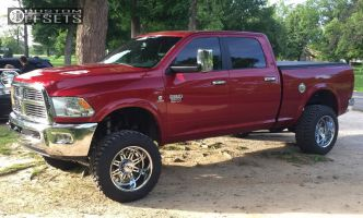 """2010 Ram 3500 - 20x12 -44mm - Ion Alloy Style 183 - Suspension Lift 6"""" - 35"""" x 12.5"""""""