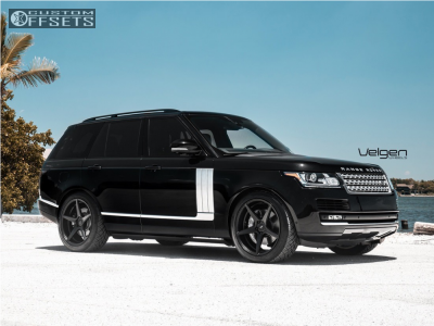 2016 Land Rover Range Rover - 22x10.5 45mm - Velgen Classic5 - Stock Suspension - 285/40R22