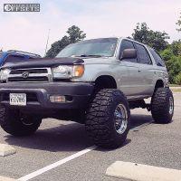 "2000 Toyota 4Runner - 15x14 -76mm - Bart Super Trucker - Suspension Lift 4.5"" - 33"" x 13.5"""