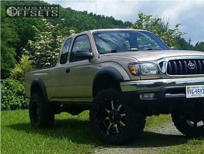 "2001 Toyota Tacoma - 20x10 -24mm - Moto Metal Mo970 - Suspension Lift 3"" - 33"" x 12.5"""