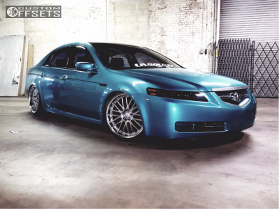 Tl Acura Coilovers Privat Netz Chrome Tucked