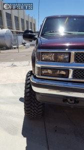 "1997 Chevrolet K1500 Suburban - 20x12 -44mm - Dropstars 645b - Suspension Lift 6"" - 35"" x 12.5"""