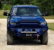 """2010 Toyota Tundra - 20x9 0mm - Bmf M-80 - Suspension Lift 6"""" - 35"""" x 12.5"""""""
