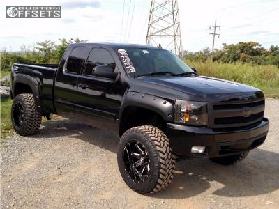 "2007 Chevrolet Silverado 1500 - 20x12 -44mm - Hostile Alpha - Suspension Lift 6.5"" - 35"" x 12.5"""
