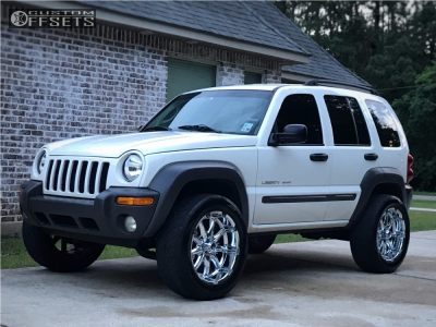 "2003 Jeep Liberty - 20x9 -12mm - XD Badlands - Suspension Lift 3"" - 305/50R20"