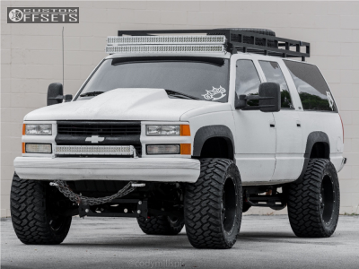 "1999 Chevrolet K2500 Suburban - 22x11 -24mm - Fuel Hostage - Suspension Lift 6"" - 375/45R22"