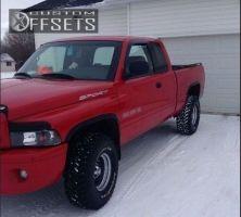 """1999 Dodge Ram 1500 - 15x8 -12.7mm - Cragar Unknown - Stock Suspension - 33"""" x 12.5"""""""
