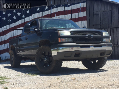 "2003 Chevrolet Silverado 1500 - 18x9 0mm - Xd Xd775 - Suspension Lift 4.5"" - 35"" x 12.5"""