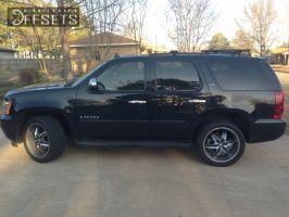 2007 Chevrolet Tahoe - 22x9.5 10mm - Helo HE866 -  - 305/40R22