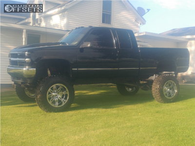 """1993 Chevrolet K1500 - 20x12 -44mm - Fuel Hostage - Lifted >12"""" - 37"""" x 12.5"""""""