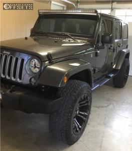 "2016 Jeep Wrangler - 20x10 -18mm - Fuel Vapor - Suspension Lift 2.5"" - 295/65R20"