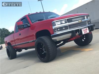 "1995 Chevrolet K1500 - 20x12 -51mm - Vision Prowler - Suspension Lift 2.5"" - 305/50R20"