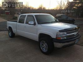 """2001 Chevrolet Silverado 1500 HD - 18x9 -10mm - Diamo 8 Karat - Level 2"""" Drop Rear - 265/60R18"""