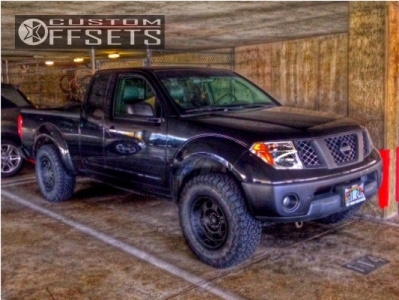 2007 Nissan Frontier - 16x8 -12mm - Pro Comp Series 89 - Leveling Kit - 265/75R16
