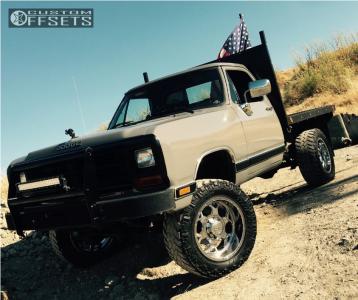 "1988 Dodge W250 - 20x10 -19mm - Bmf Sota - Suspension Lift 4"" - 35"" x 12.5"""