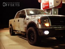 """2009 Ford F-150 - 20x9 0mm - Pro Comp 7032 - Leveling Kit - 33"""" x 12.5"""""""