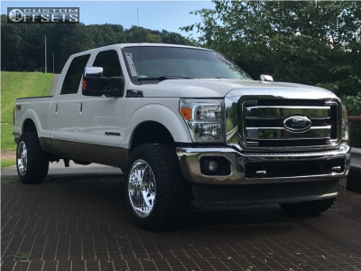 2012 Ford F-250 Super Duty - 20x12 -40mm - American Force Evo Ss - Stock Suspension - 295/55R20