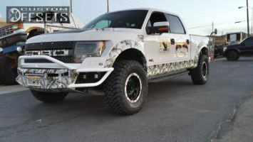 """2013 Ford F-150 - 20x9 -12mm - Method Double Standard - Leveling Kit - 35"""" x 12.5"""""""