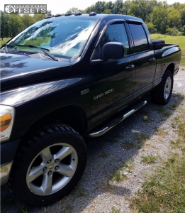 """2007 Dodge Ram 1500 - 20x8 19mm - Spaced Out Stockers Spaced Out Stockers - Leveling Kit - 33"""" x 12.5"""""""