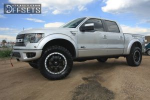"""2013 Ford F-150 - 20x9 -12mm - Fuel Trophy - Leveling Kit - 35"""" x 12.5"""""""