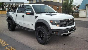 """2013 Ford F-150 - 20x9 0mm - Fuel Trophy - Leveling Kit - 35"""" x 12.5"""""""