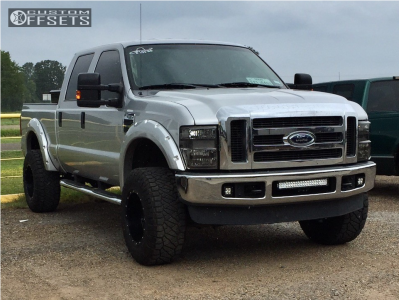 "2010 Ford F-250 Super Duty - 18x12 -44mm - Fuel Hostage - Suspension Lift 3"" - 35"" x 12.5"""