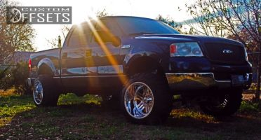 """2004 Ford F-150 - 20x14 -76mm - American Force Rush SS - Suspension Lift 6"""" - 33"""" x 12.5"""""""
