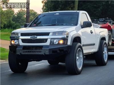 2008 Chevrolet Colorado - 20x9 -12mm - XD Hoss - Leveling Kit - 275/60R20