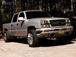 "2005 Chevrolet Silverado 1500 - 20x12 -44mm - Moto Metal MO962 - Leveling Kit - 33"" x 12.5"""