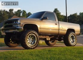 "1995 Chevrolet K1500 - 20x12 -44mm - Fuel Maverick - Suspension Lift 6"" & Body 3"" - 38"" x 15.5"""