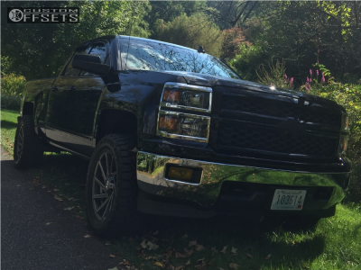 "2015 Chevrolet Silverado 1500 - 20x9 18mm - Xd Xd834 - Leveling Kit - 33"" x 12.5"""