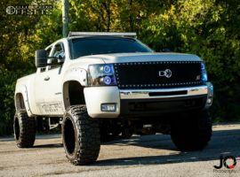 "2008 Chevrolet Silverado 1500 - 20x12 -44mm - Monster Energy 538bm - Suspension Lift 7.5"" - 35"" x 12.5"""
