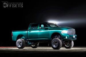 """2013 Ram 1500 - 20x14 -88.9mm - American Force Independence SS - Lifted >9"""" - 35"""" x 12.5"""""""
