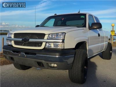 2005 Chevrolet Silverado 1500 - 20x12 -44mm - Fuel Octane - Leveling Kit - 275/60R20