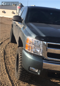 """2009 Chevrolet Silverado 1500 - 20x10 -12mm - Fuel Krank - Suspension Lift 3.5"""" - 305/55R20"""