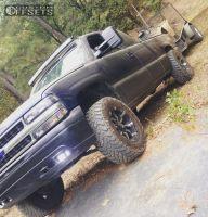 2000 Chevrolet Silverado 1500 - 18x9 -12mm - Rbp 94R - Leveling Kit - 285/65R18