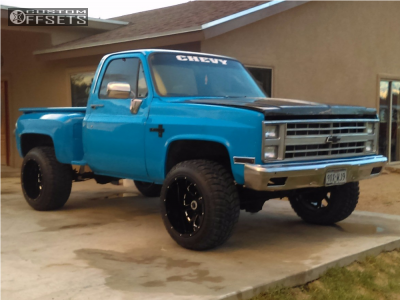 "1987 Chevrolet K10 Pickup - 20x14 -76mm - XD xd25 - Leveling Kit - 33"" x 12.5"""