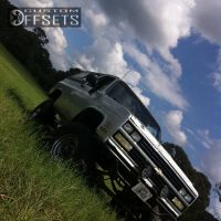 "1991 Chevrolet Blazer - 16x12 2mm - American Eagle N/A - Suspension Lift 7.5"" - 37"" x 12.5"""