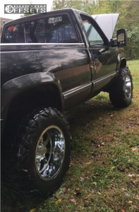 "1989 Chevrolet K1500 - 20x12 -44mm - Gear Off-Road 726c - Body Lift 3"" - 37"" x 13.5"""