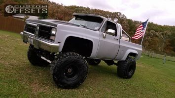 "1984 GMC K1500 - 15x14 -89mm - Bart Super Trucker - Suspension Lift 8"" - 38"" x 15.5"""