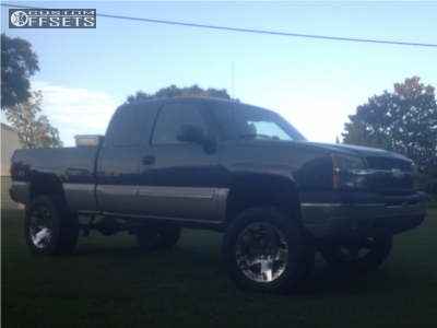 "2003 Chevrolet Silverado 1500 - 20x12 -44mm - XD Xd775 - Suspension Lift 6"" - 35"" x 12.5"""