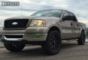 """2006 Ford F-150 - 20x9 1mm - Fuel Lethal - Leveling Kit - 35"""" x 12.5"""""""