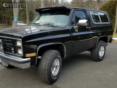 1987 Chevrolet Blazer - 16x10 -32mm - Pacer LT - Stock Suspension - 285/75R16