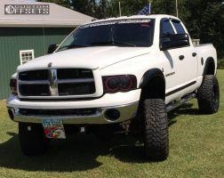 "2003 Dodge Ram 3500 - 18x9 1mm - Fuel Hostage - Suspension Lift 6"" - 35"" x 12.5"""